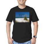 Simple Pleasures Men's Fitted T-Shirt (dark)