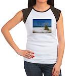 Simple Pleasures Women's Cap Sleeve T-Shirt