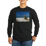 Simple Pleasures Long Sleeve Dark T-Shirt