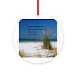 Simple Pleasures Ornament (Round)