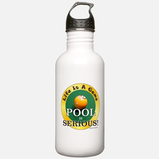 Pool Serious - Water Bottle