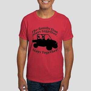 Family Plays Dark T-Shirt