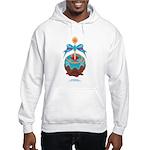 Kawaii Blue Candy Apple Hooded Sweatshirt