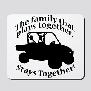 Family Plays Mousepad
