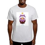 Kawaii Blue Candy Apple Light T-Shirt