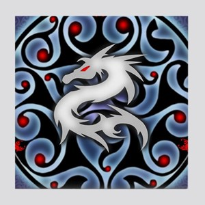 Fierce Dragon Tile Coaster