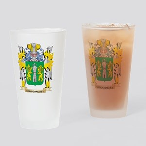 Shaughnessy Family Crest - Coat of Drinking Glass