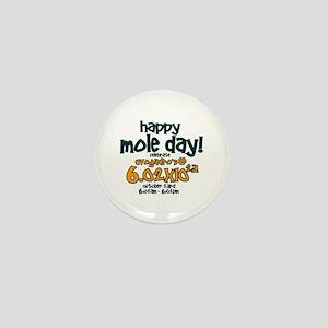 Happy Mole Day ! Mini Button