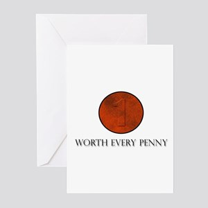 Worth Every Penny Greeting Cards (Pk of 10)