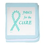 Teal Paws4Cure Infant Blanket