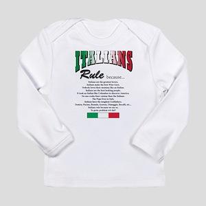 Italians Rules Long Sleeve Infant T-Shirt