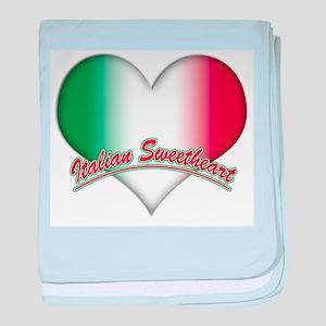 Italian Sweetheart Infant Blanket