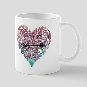 To moon and back Mugs