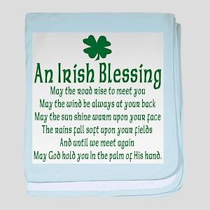 Irish Blessing Infant Blanket