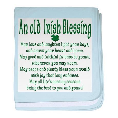 Old irish Blessing Infant Blanket
