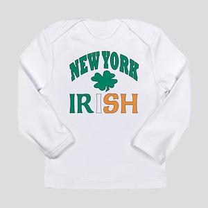 New York irish Long Sleeve Infant T-Shirt