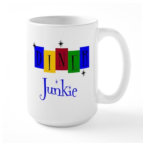 Diner Junkie Large Mug
