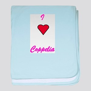 Heart Coppelia Infant Blanket