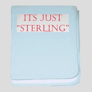 """Just """"Sterling"""" Infant Blanket"""