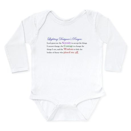 Light Designer Prayer Long Sleeve Infant Bodysuit