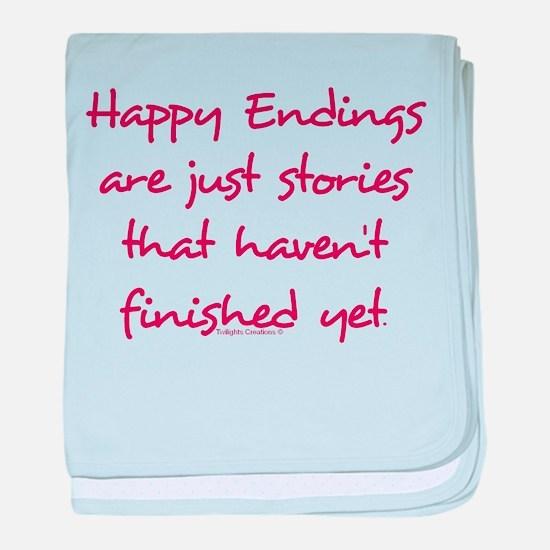 Happy Endings Finished Infant Blanket