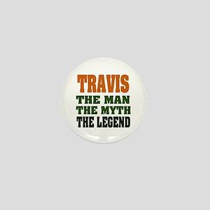 TRAVIS - The Legend Mini Button