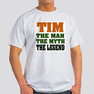 TIM- The Legend Ash Grey T-Shirt