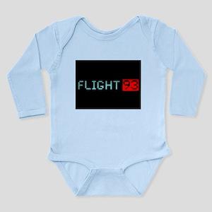 Remembering Flight 93 Long Sleeve Infant Bodysuit