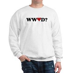 WWLD? Love Sweatshirt