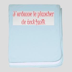 Tecktonik floor 1~ Infant Blanket