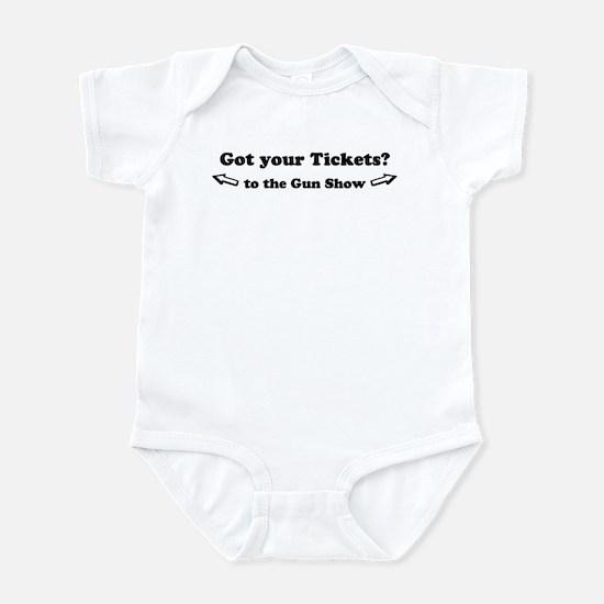 Gun Show Infant Bodysuit