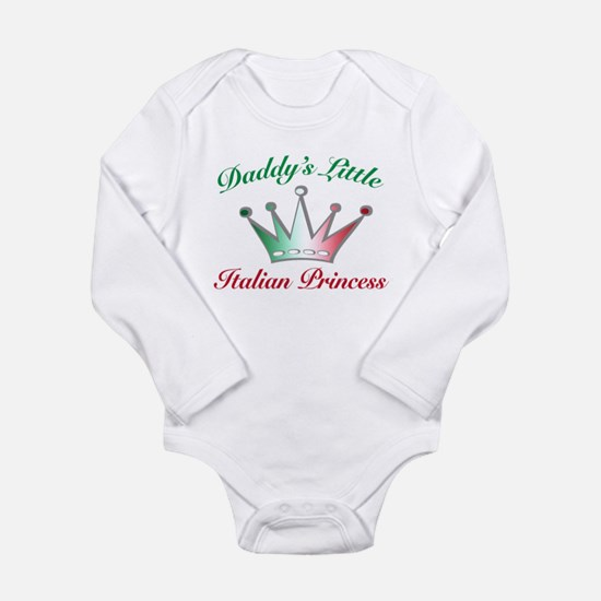 daddy's little Italian Prince Long Sleeve Infant B
