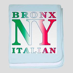 Bronx New York Italian Infant Blanket
