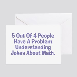 Fractions greeting cards cafepress math jokes greeting card m4hsunfo