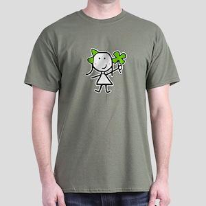 Girl & Clover Dark T-Shirt