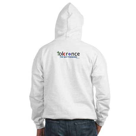 Hooded Sweatshirt w/ chest and back logo