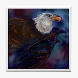 Eagle Rave Magic Tile Coaster