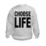 Choose Life Kids Sweatshirt