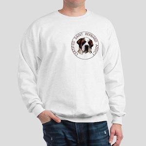 saint bernard addict Sweatshirt