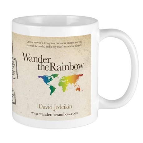 Wander the Rainbow Mug