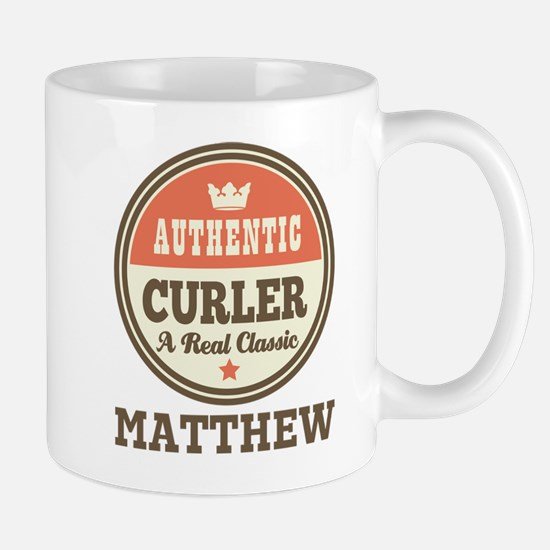 Personalized Curler Gift Mugs