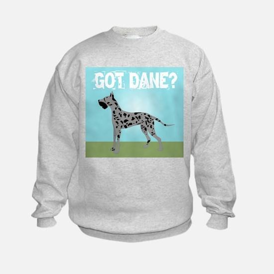 Merle Great Dane Sweatshirt