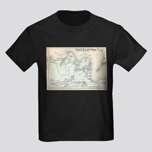 Vintage Map of East Hampton New York (1873 T-Shirt