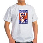 Cavalier King Charles! Ash Grey T-Shirt
