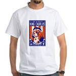 Obey the Cavalier King Charles! White T-shirt