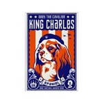 Obey the Cavalier King Charles! Magnet