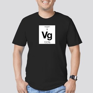 Vegan Element Men's Fitted T-Shirt