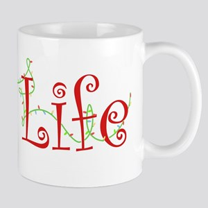 Holiday Pug Life Mug