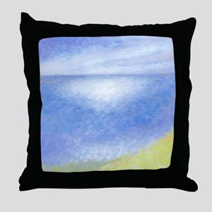 Misty Pali Lookout Throw Pillow