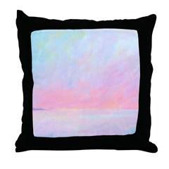 Sunup Over Kailua Throw Pillow